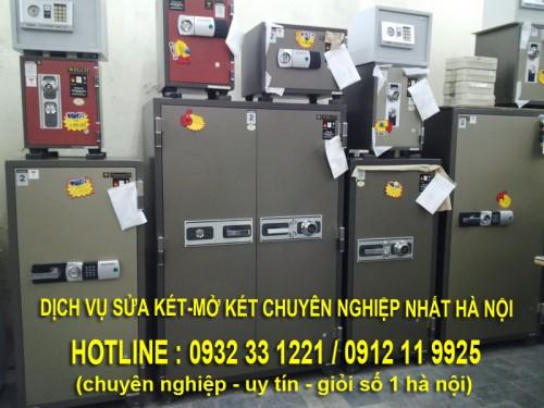 dịch vụ sửa két sắt ở hà nội