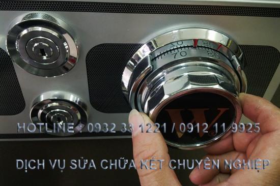 mở mật khẩu két bạc